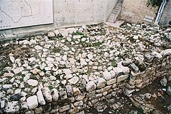 250px-Biblical_Jerusalem_Wall_Remnants